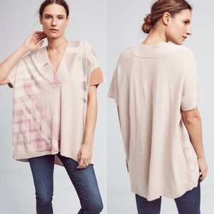 Moth Los Pocitas Oversized Poncho Sweater Top